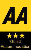 AA 3 star guest accommodation